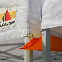 AbcCanopy Canopy Accessories Orange 10 Foot Canopy Rain Gutter / Light Gutter for 10' X 10' Canopy Pop up Tent