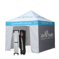 AbcCanopy 10 X 10 Custom Canopy Tent Commerical Grade Pop up Canopy W/ Roller Bag
