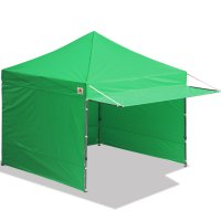 10x10 AbcCanopy Easy Pop up Canopy Tent Instant Shelter Deluxe Portable Market Canopy awning-Kelly Green