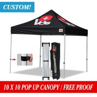10 X 10 Custom Canopy Tent Commerical Grade Pop up Canopy