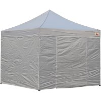 AbcCanopy 8x8 Deluxe Gray Package Tent With Roller Bag