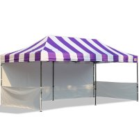 10x20 Carnival Pop Up Tent Trade Show Booth Canopy W/ Wheeled bag