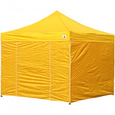 AbcCanopy 8x8 Deluxe Yellow Package Tent With Roller Bag