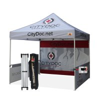 Abccanopy Custom Printed 10x10 Pop up gazebo Market Stall Custom Marquees