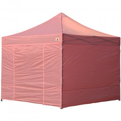 AbcCanopy 8x8 Deluxe Pink Package Tent With Roller Bag