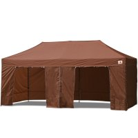 AbcCanopy 10x20 Deluxe Brown Package Tent With Roller Bag