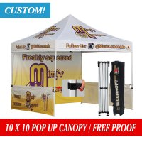 Professional 10x10 Marquee Custom Pop up Party Tent Event Gazebo W/Roller Bag
