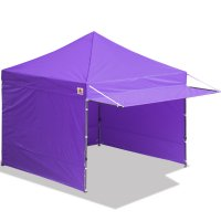 10x10 AbcCanopy Easy Pop up Canopy Tent Instant Shelter Deluxe Portable Market Canopy awning-Purple