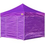 AbcCanopy 8x8 Deluxe Purple Package Tent With Roller Bag
