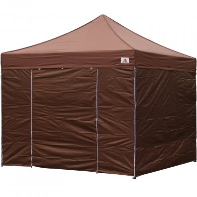 AbcCanopy 8x8 Deluxe Brown Package Tent With Roller Bag