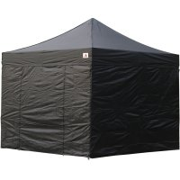 AbcCanopy 8x8 Deluxe Black Package Tent With Roller Bag