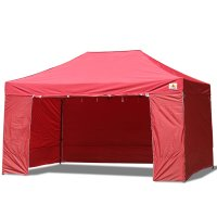 AbcCanopy 10x15 Deluxe Burgundy Package Tent With Roller Bag