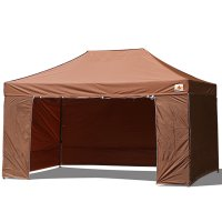AbcCanopy 10x15 Deluxe Brown Package Tent With Roller Bag