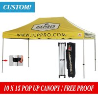 10x15 Custom Canopy Tent Pro-40 Grade Pop up Canopy