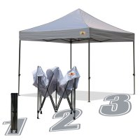 AbcCanopy 10x10 King Kong Gray Canopy Instant Shelter Outdor Party Tent Gazebo
