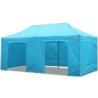 AbcCanopy 10x20 Deluxe Sky Blue Package Tent With Roller Bag