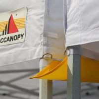 AbcCanopy Canopy Accessories Yellow 10 Foot Canopy Rain Gutter / Light Gutter for 10' X 10' Canopy Pop up Tent