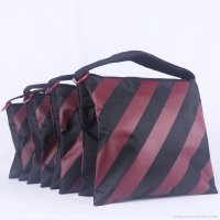 Abccanopy stripe burgundy weight bag-Set of 4