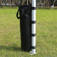 AbcCanopy Portable Canopy Weight Sand Bags(3) Anchors - Black - 4 Pack