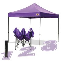 AbcCanopy 10x10 King Kong Purple Canopy Instant Shelter Outdor Party Tent Gazebo