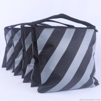 Abccanopy stripe gray weight bag-Set of 4