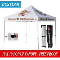 Custom 10x10 GAZEBO WORK SHELTER TRADE STAND POP UP TENT HEXAGON