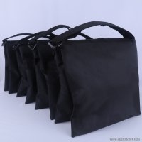 Abccanopy stripe black weight bag-Set of 4