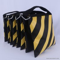 Abccanopy stripe yellow weight bag-Set of 4
