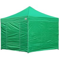 AbcCanopy 8x8 Deluxe Kelly Green Package Tent With Roller Bag