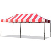 10X20 Carnival Pop Up Canopy Popcorn Cotton Candy Vending Tent