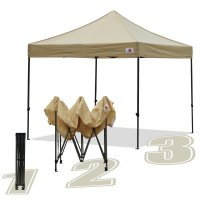 AbcCanopy 10x10 King Kong Beige Canopy Instant Shelter Outdor Party Tent Gazebo
