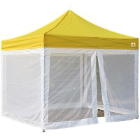 AbcCanopy Commercial Pop Up Canopy Screen Room 10x10 Canopies With Mesh Walls