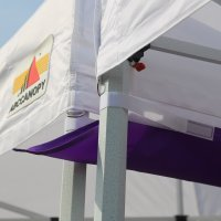 AbcCanopy Canopy Accessories Purple 10 Foot Canopy Rain Gutter / Light Gutter for 10' X 10' Canopy Pop up Tent