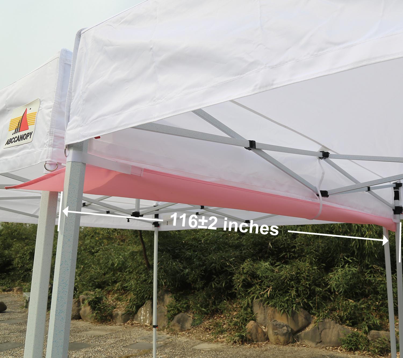 ABCCANOPY Accessories 10 Foot Canopy Rain Gutter/Light