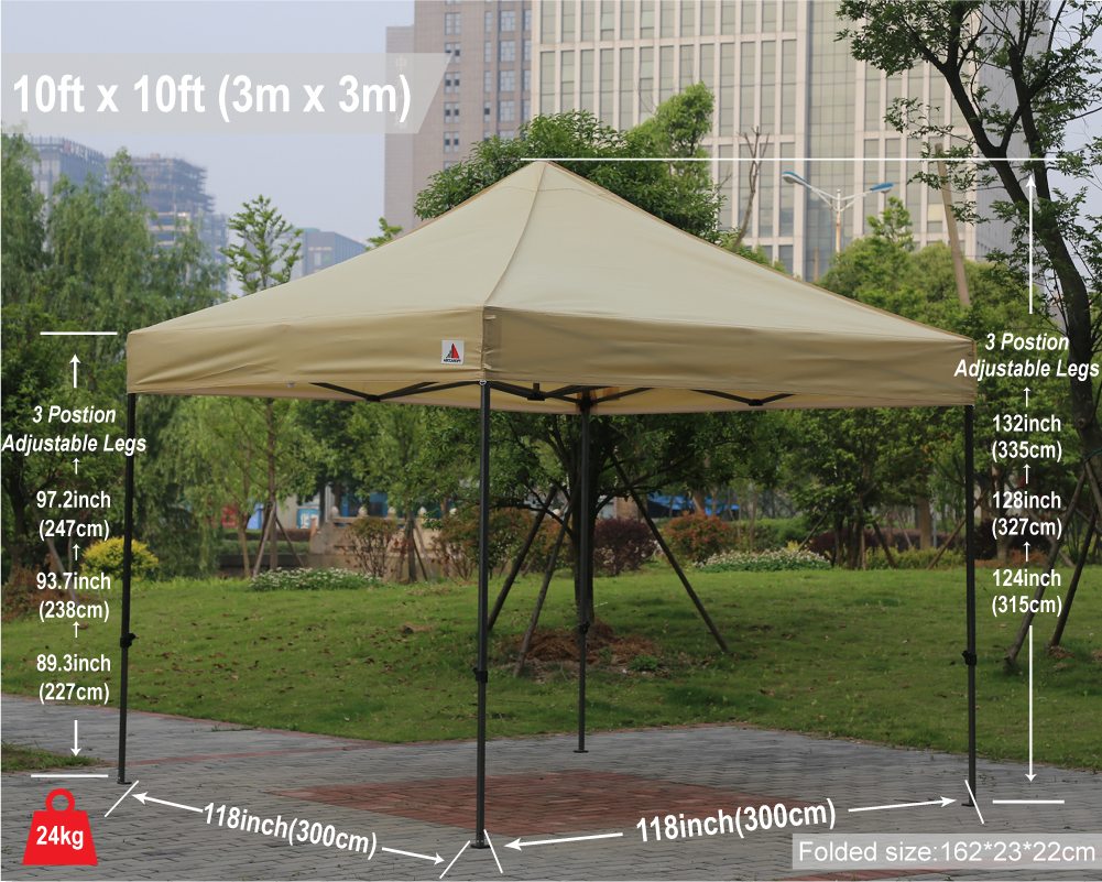 10x10 King Kong Canopy Instant Shelter Outdor Party Tent