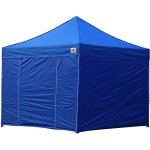 AbcCanopy 8x8 Deluxe Royal Blue Package Tent With Roller Bag