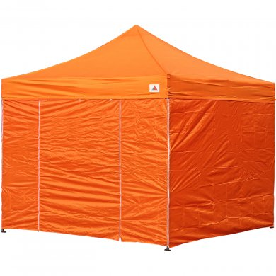 AbcCanopy 8x8 Deluxe Orange Package Tent With Roller Bag