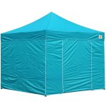 AbcCanopy 8x8 Deluxe Turquoise Package Tent With Roller Bag