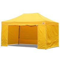 AbcCanopy 10x15 Deluxe Gold Package Tent With Roller Bag