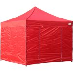 AbcCanopy 8x8 Deluxe Red Package Tent With Roller Bag