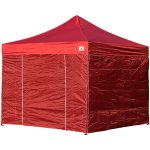 AbcCanopy 8x8 Deluxe Burgundy Package Tent With Roller Bag
