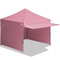 10x10 AbcCanopy Easy Pop up Canopy Tent Instant Shelter Deluxe Portable Market Canopy awning-Pink